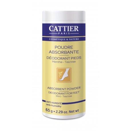 Cattier Poudre Absorbante Pieds 65g