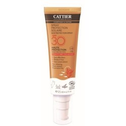 Cattier Spray Protection Solaire Visage & Corps SPF30 125ml