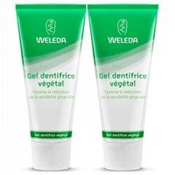 Weleda Duo Gel Dentifrice Végétal 2 x 75ml