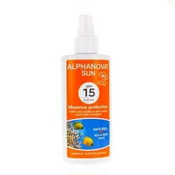 Alphanova Sun Moyenne Protection Bio SPF15 125ml
