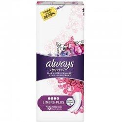 Always Discreet Plus Protège-slips Fuites Urinaires 18 pièces