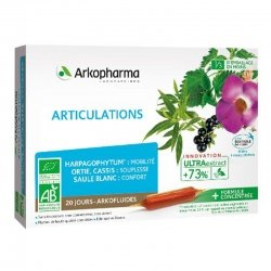 Arkopharma Articulations 20 ampoules