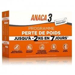 Anaca 3 Programme Perte de Poids 14 gélules + 14 infusions + 7 barres