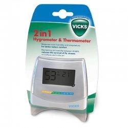 Vicks hygrometre & thermometre 2 en 1 v70emea