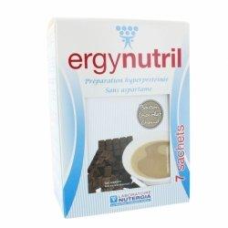 Nutergia Ergynutril Boisson Hyperprotéinée Chocolat Chaud 7 sachets