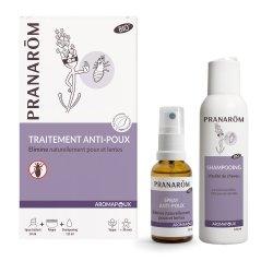 Pranarom Aromapoux Traitement Anti-Poux Spray 30ml + Shampooing 125ml