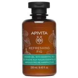 Apivita Refreshing Fig Gel Douche aux Huiles Essentielles 250ml