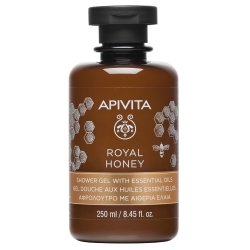 Apivita Royal Honey Gel Douche aux Huiles Essentielles 250ml