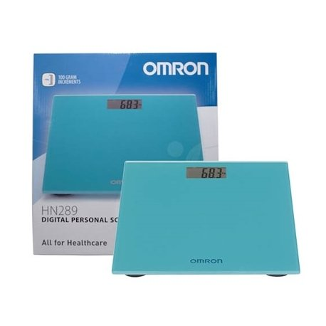 Omron Balance Digitale Bleu Océan (HN-289-EB)