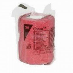3 m Coban bandage elastique red rouleau 7,5cmx3m 1 pièce