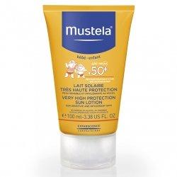 Mustela Bébé Enfant Lait Solaire Très Haute Protection SPF50+ 100ml