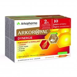 Arkoroyal dynergie duopack amp 2x20