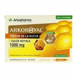 Arkopharma Arkoroyal Gelée Royale 1000mg 20 ampoules de 10ml