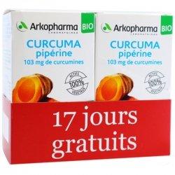 Arkopharma Arkogélules Duo Pack Curcuma Pipérine Bio 130 gélules
