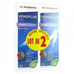 Arkopharma Duo Pack Veinoflux Gel Jambes Légères Effet Froid 2 x 150ml