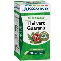 Juvamine Minceur Brûle-Graisse Thé Vert Guarana 30 gélules