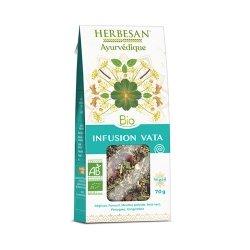 Herbesan Bio Ayurvédique Infusion Vata 70g