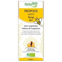 Herbalgem Sirop Propolis Junior Bio 150ml