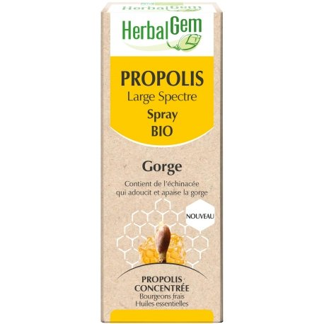 Herbalgem Propolis Large Spectre Spray Bio 15ml