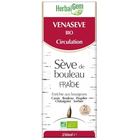 Herbalgem Sèves De Bouleau Venasève Bio 250ml