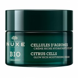 Nuxe Bio Organic Cellules d'Agrumes Crème Riche Hydratant Eclat 50ml