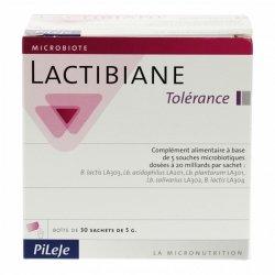 Pileje Lactibiane Tolérance 30 sachets de 5g