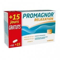 Promagnor Relaxation 60 capsules + 15 capsules GRATUITES