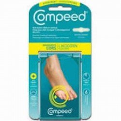 Compeed pansement cors hydratant 6 pièces