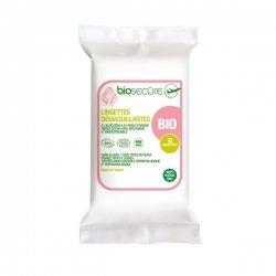 Bio Secure Lingettes Démaquillantes x10