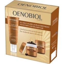 Oenobiol Coffret Joli Teint Fluide Lacté Autobronzant 100ml + Autobronzant 30 capsules