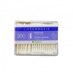 Laboratoire Marque Verte Cotonnerie coton tige duo 2X200