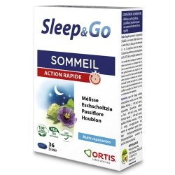 Ortis Sleep & Go 36 comp