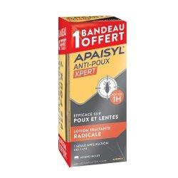 Apaisyl Anti-poux Xpert Lotion Traitante Radicale 200ml + Bandeau OFFERT