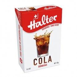 Halter bonbons cola citron sans sucre 40g