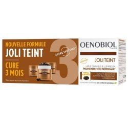 Oenobiol Joli Teint Cure 3 Mois 3 x 30 capsules