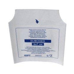 Euromed pansement bord adhesif 6 x 7cm 718001