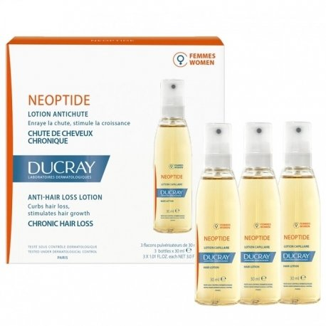 Ducray Neoptide anti-chute (femme) lotion 3x30ml
