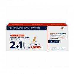 Ducray Anacaps Progressiv Anti-Chute Progressive 3x30 capsules 2+1 GRATUIT