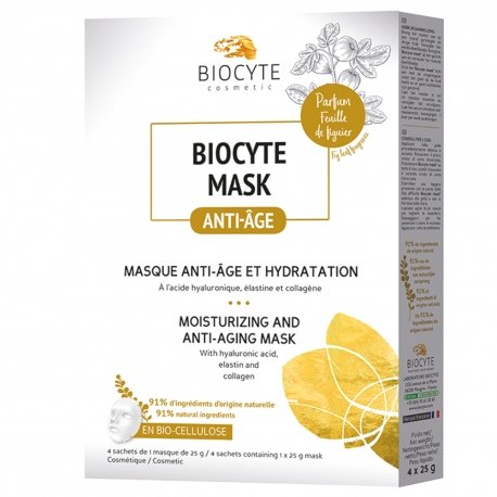 Biocyte Mask Anti-Age et Hydratation Pack 4 masques