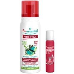 Puressentiel Anti-Pique Spray Répulsif 75ml + Roller Apaisant 5ml