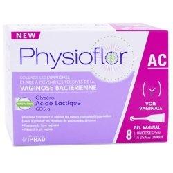 Physioflore AC Vaginose Bactérienne 8 unidoses de 5ml