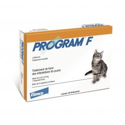 Elanco Program F Traitement Anti-Puces 6 ampoules
