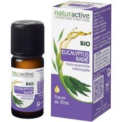 Naturactive Bio Eucalyptus Radié Huile Essentielle Chémotypée 10ml