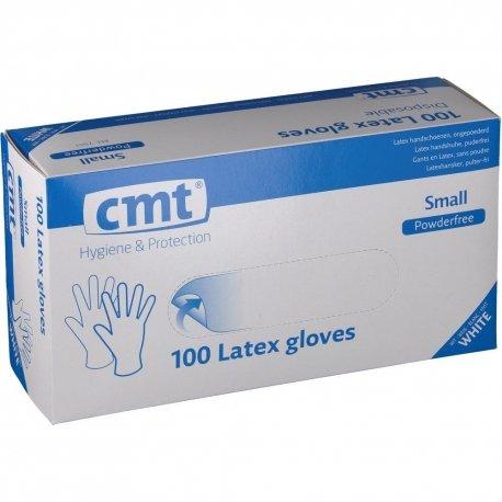 CMT Texa Gants Latex Sans Poudre Small 100 pièces
