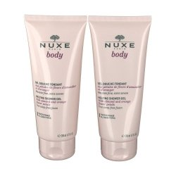 Nuxe Body Duo Gel Douche Fondant 2x200ml