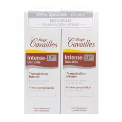 Roge Cavailles Duo Intense-LP Déo-Bille Transpiration Intense 2x40ml