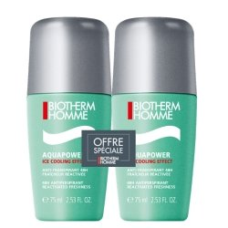 Biotherm Duo Homme Aquapower Roll-On 2x75ml