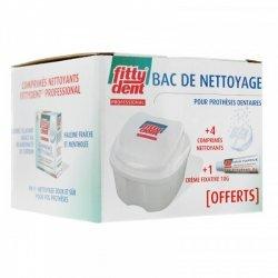 Fittydent Bac de Nettoyage pour Prothèses Dentaires