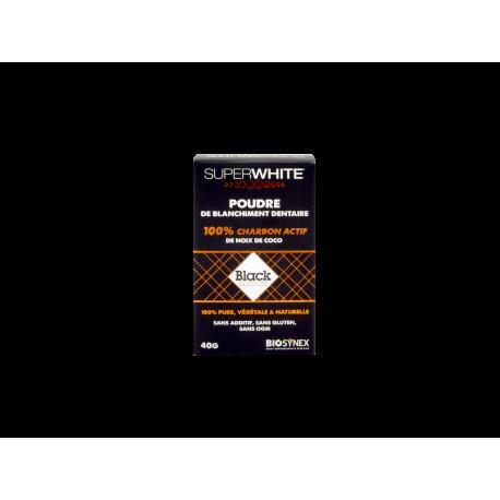 Superwhite Poudre de Blanchiment Dentaire Black Edition 40g