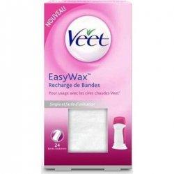 Veet Easy-Wax Recharge de Bandes 24 pièces